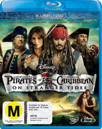 Pirates of the Caribbean: On Stranger Tides on Blu-ray