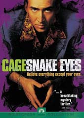 Snake Eyes on DVD