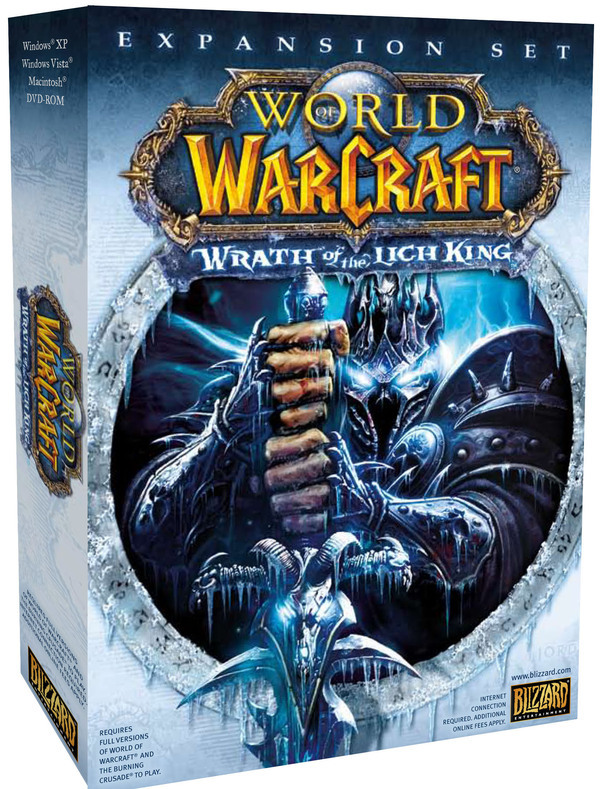 World of Warcraft: Wrath of the Lich King Expansion for PC Games