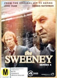 The Sweeney - Series 4 (4 Disc Set) DVD