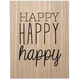 Transomnia: 'Happy Happy happy' Sign