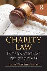 Charity Law by Juliet Chevalier-Watts