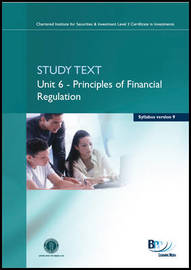 CISI Certificate - Unit 6 Syllabus Version 9: Study Text by BPP Learning Media