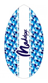 "Maddog: MSB130 - 37"" Skimboard Wedge (Blue Surf)"