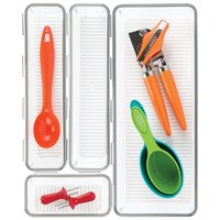 Interdesign: Linus Interlocking Drawer Organiser Set - (Set of 4)
