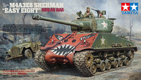 Tamiya: 1/35 M4A3E8 Sherman (Easy 8 /Korean War) - Model Kit