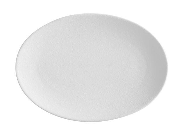 Maxwell & Williams: Caviar Oval Plate (White)