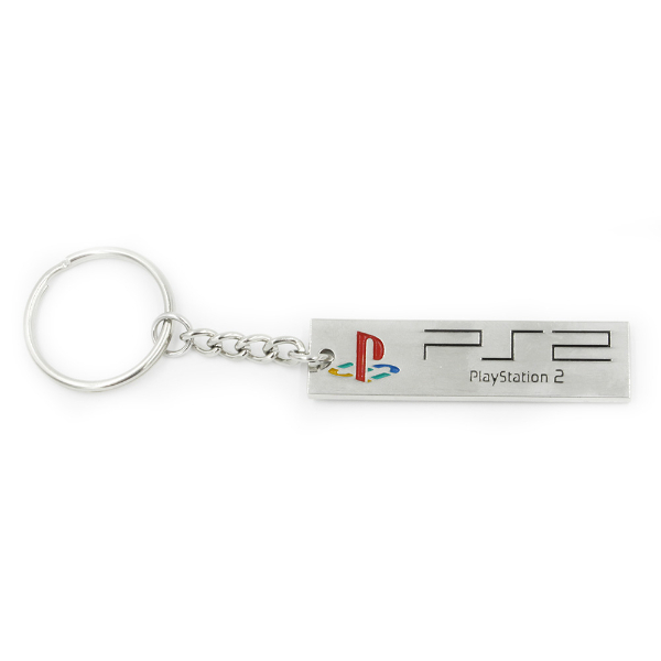 Official PlayStation 2 PS2 Logo Keychain / Keyring image