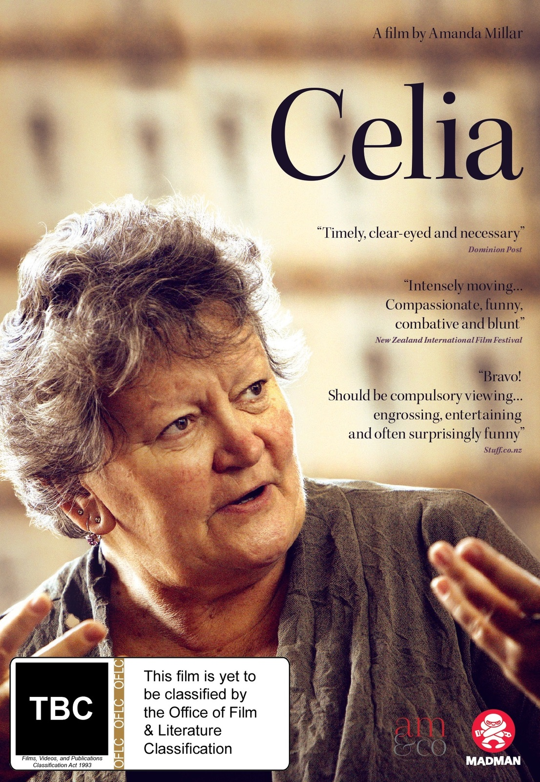 Celia on DVD image