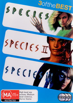 Species / Species II / Species III - 3 Of The Best (3 Disc Set) on DVD