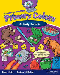 American English Primary Colors 4 Activity Book by Diana Hicks image