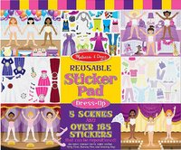 Melissa & Doug: Dress-Up Reusable Sticker Pad image