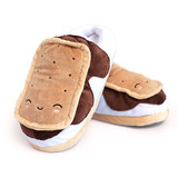 USB Heated Slippers - S'mores