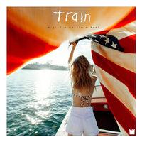 A Girl A Bottle A Boat by Train