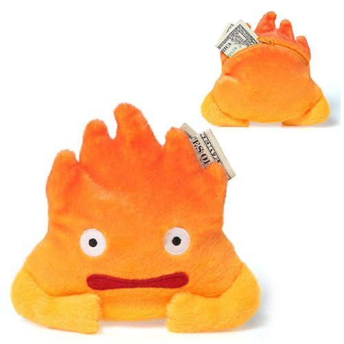 Howl's Moving Castle - Calcifer Coin Purse