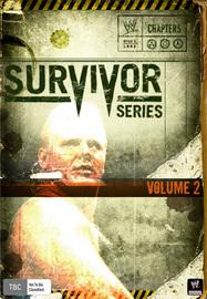 WWE Survivor Series 2009 on DVD image