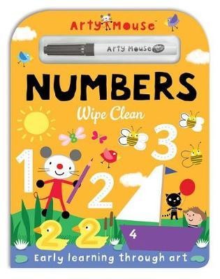 Arty Mouse Wipe Clean Numbers by Mandy Stanley image
