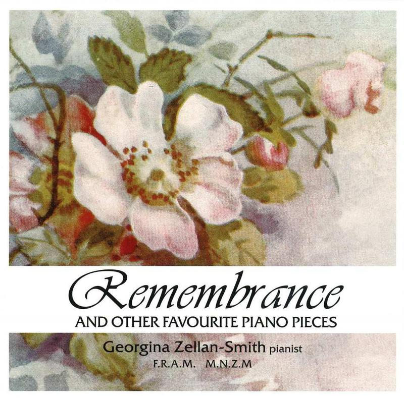 Remembrance And Other Piano Favourites by Georgina Zellan-Smith image