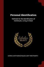 Personal Identification by Harris Hawthorne Wilder image