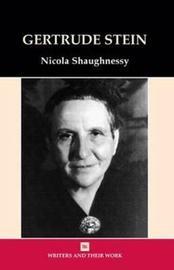 Gertrude Stein by Nicola Shaughnessy image