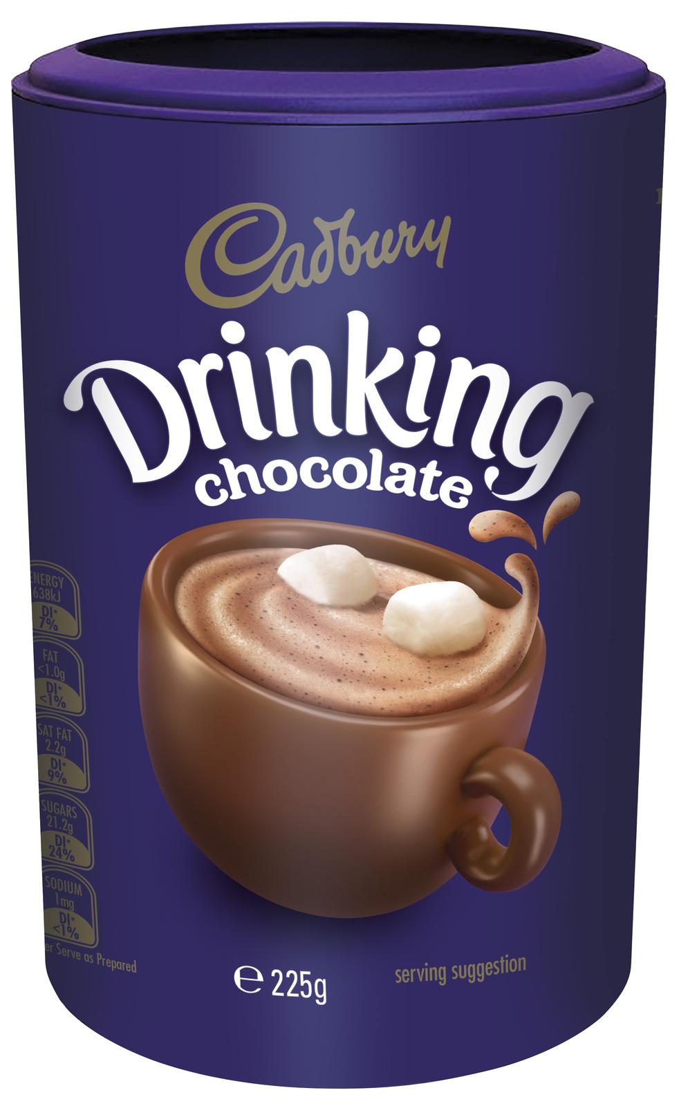 Cadbury Drinking Chocolate (225g) image