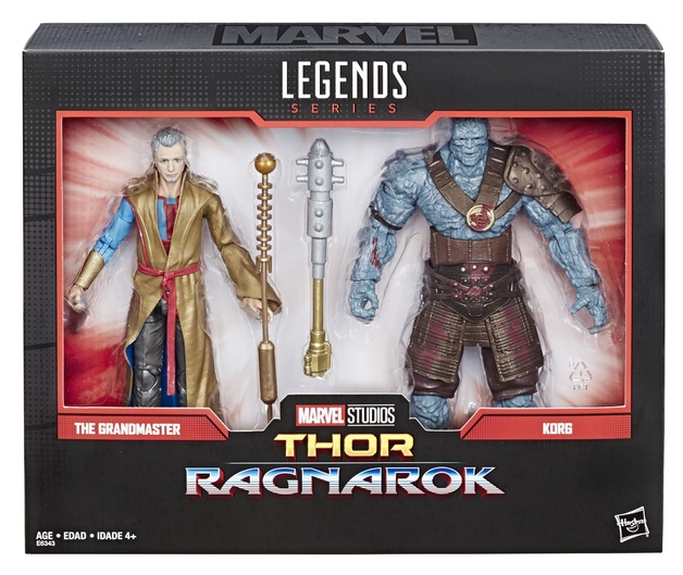 Marvel Legends: Action Figure 2-Pack - Grandmaster & Korg