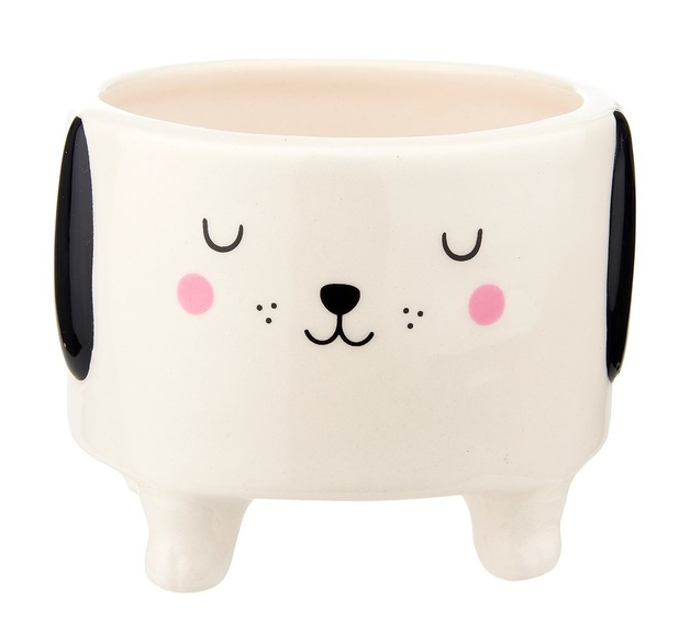 Sass & Belle: Barney The Dog - Shaped Planter