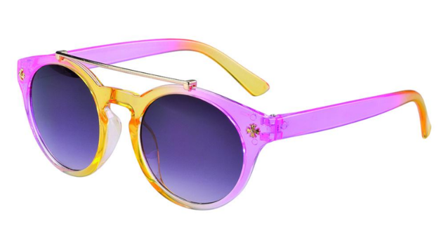 Frankie Ray: 1-3-Yrs Sunglasses - Ava Ombre (Pink/Yellow)