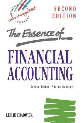 Essence Financial Accounting by Chadwick image