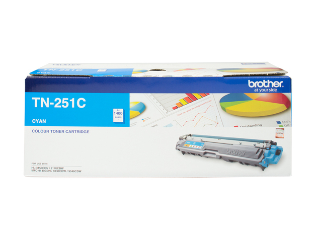 Brother TN-251C Toner (Cyan)