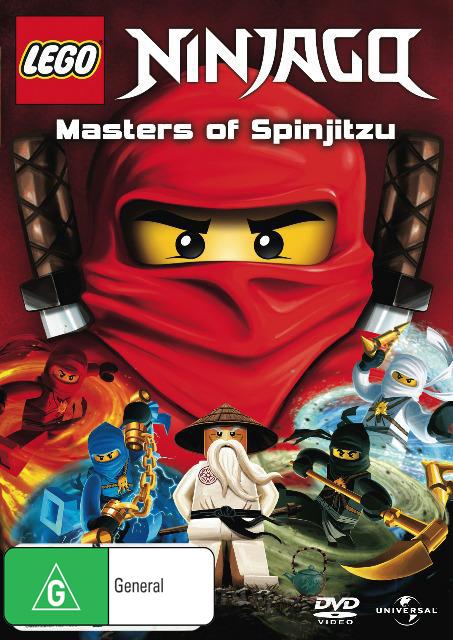 Lego: Ninjago - Masters Of Spinjitsu on DVD