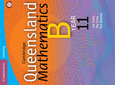 Cambridge Queensland Mathematics B Year 11: Year 11 by Douglas Wallace image