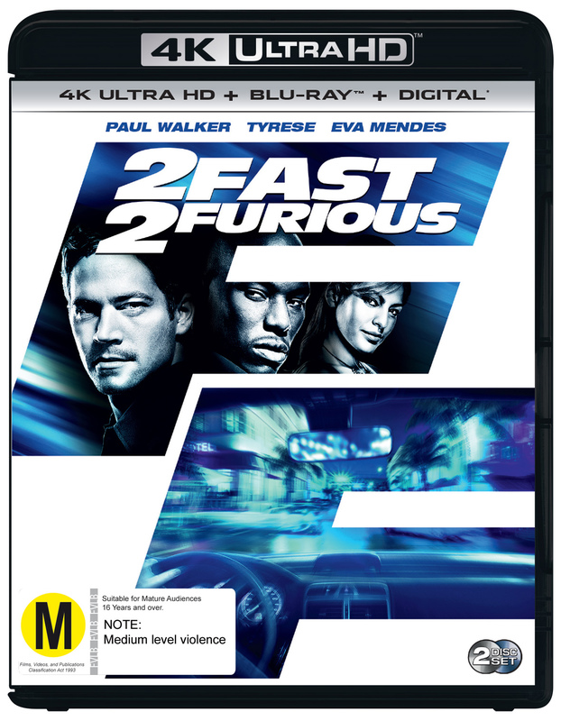 The Fast Furious 2 On UHD Blu Ray