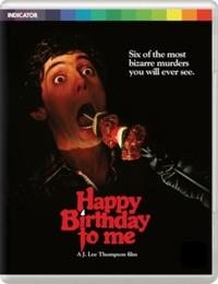 Happy Birthday To Me on DVD, Blu-ray