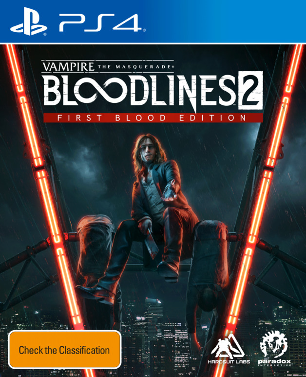 Vampire: The Masquerade – Bloodlines 2 First Blood Edition for PS4