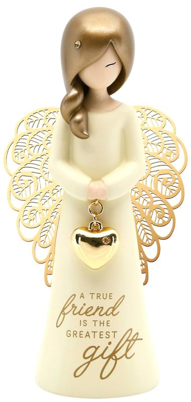 You Are An Angel: A True Friend Angel Ornament