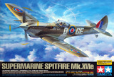 Tamiya British Supermarine Spitfire Mk.XVIe 1/32 Model Aircraft Kit