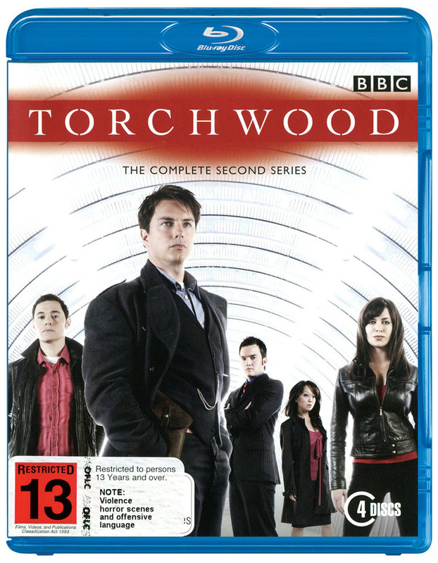Torchwood - The Complete 2nd Series (4 Disc Set) on Blu-ray