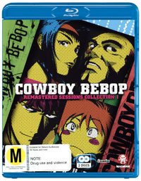 Cowboy Bebop Remastered Sessions - Collection 1 on Blu-ray