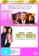 Shall We Dance? (2004) / Pretty Woman - Collector's 2-Pack (2 Disc Set) on DVD