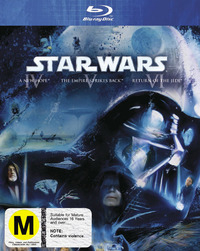 Star Wars IV, V, VI (Original Trilogy) on Blu-ray