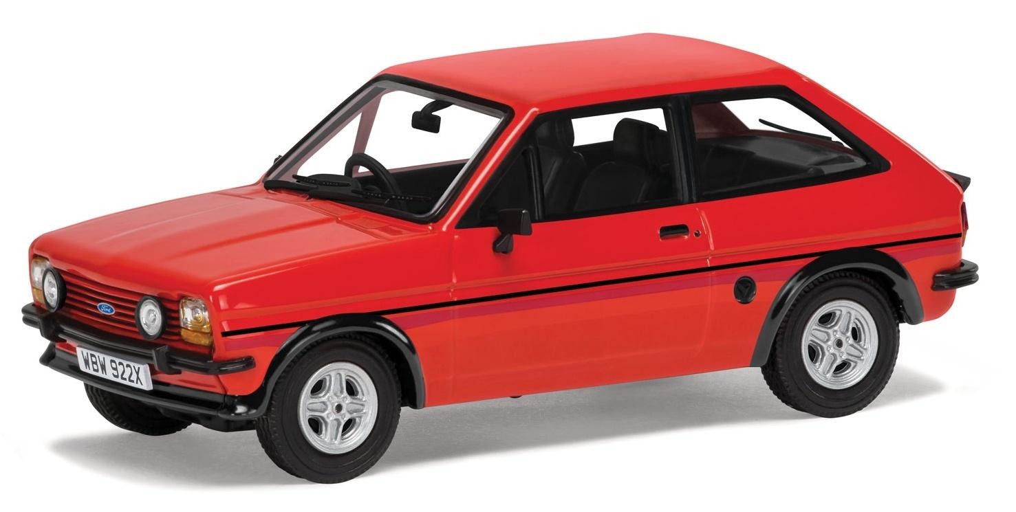 Corgi: 1/43 Ford Fiesta Mk1 Supersport 'Sunburst Red' - Diecast Model image