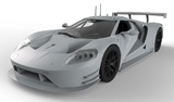 Scalextric: DPR Ford GT GTE #66, Le Mans 2016 - Slot Car