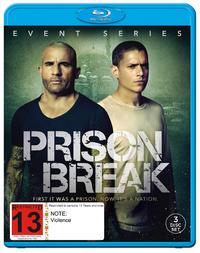 Prison Break Event Series on Blu-ray