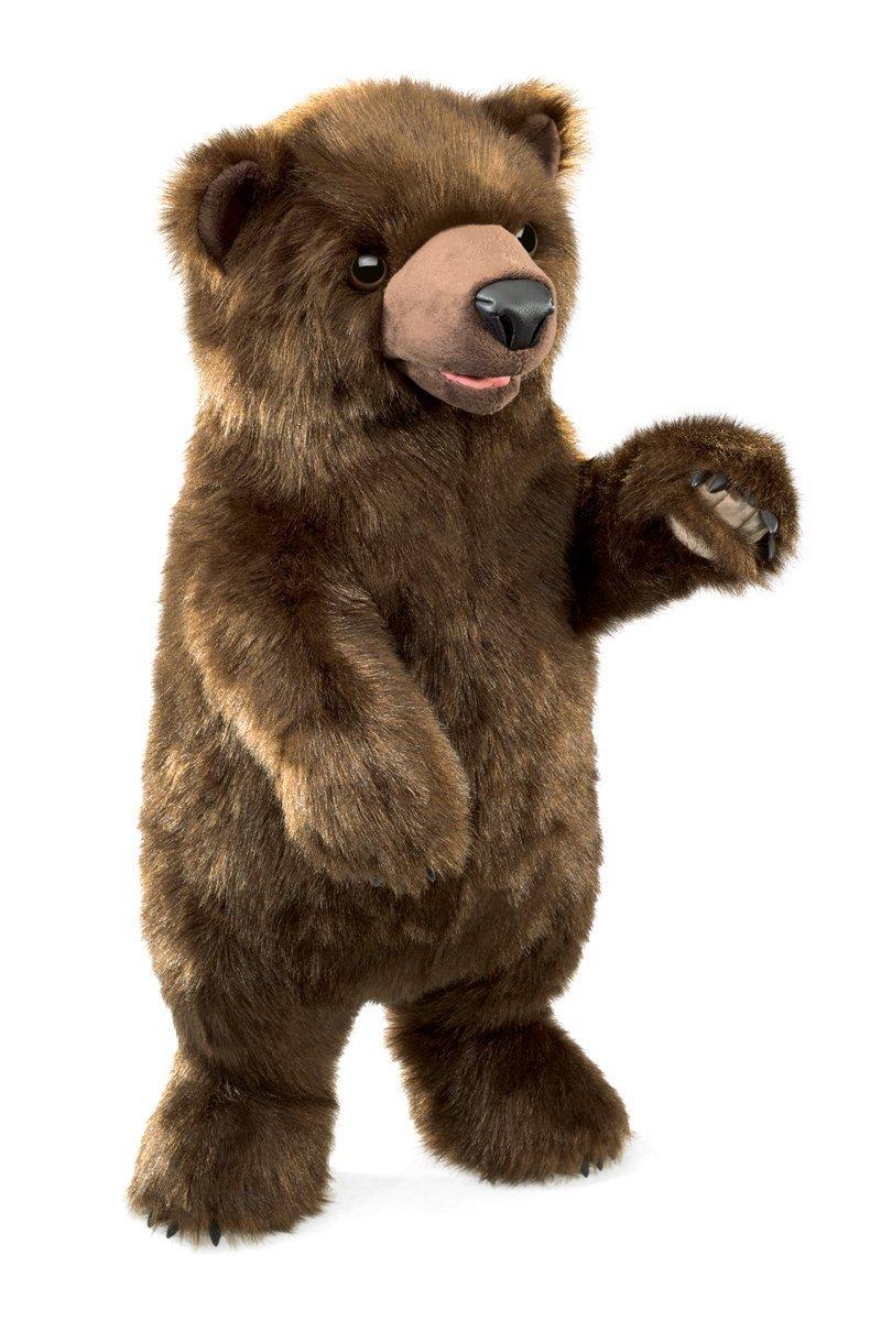 Folkmanis Hand Puppet - Standing Bear image