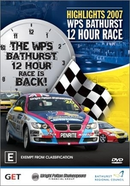 Highlights - 2007 WPS Bathurst 12 Hour Race on DVD image