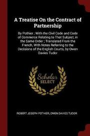 A Treatise on the Contract of Partnership by Robert Joseph Pothier image