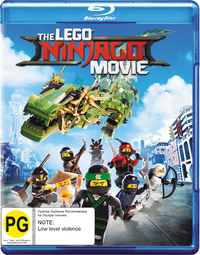 The Lego Ninjago Movie (Blu-ray) on Blu-ray image