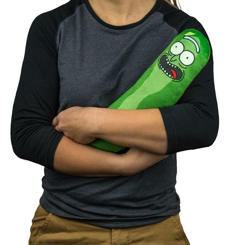 Rick and Morty: Pickle Rick Plush image
