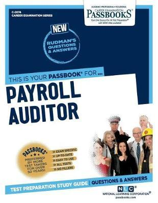 Payroll Auditor by National Learning Corporation image